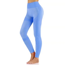 Elastic Seamless leggings High-waist Running leggings Women