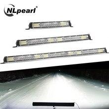 NLpearl – barre lumineuse LED double rangée, 10/20/30