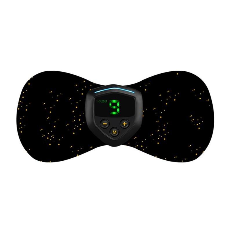 Mini Electric Massager Pad Shoulder Neck Cervical Vertebra Waist Arm Leg Massage Portable Charging Massager Dropshipping TSLM1