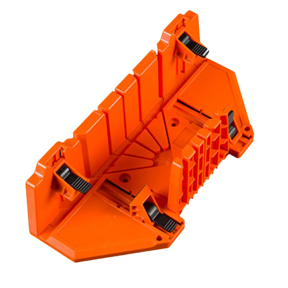 Multi-use Oblique Clamping Miter Box Different Angle Saw Box Adjustable Backsaw Woodworking Tool For Wood Cutting
