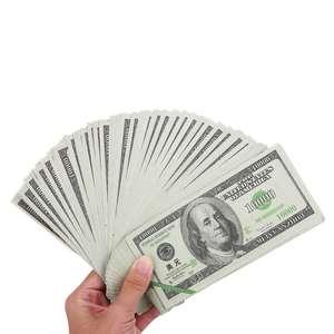 10x 80 Sheets Ancestor Money Heaven Hell Bank Notes Dollar USD Joss Paper Ghost Money Paper Money Honoring Ancestors(China)