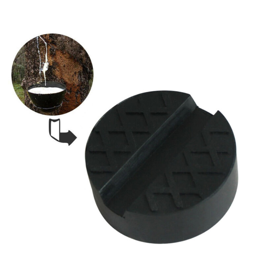 Universal Slotted Frame Floor Jack Stands Rubber Pad Adapter Lift Replacement