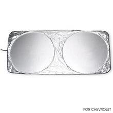 Автомобильный солнцезащитный козырек для лобового стекла chevrolet
