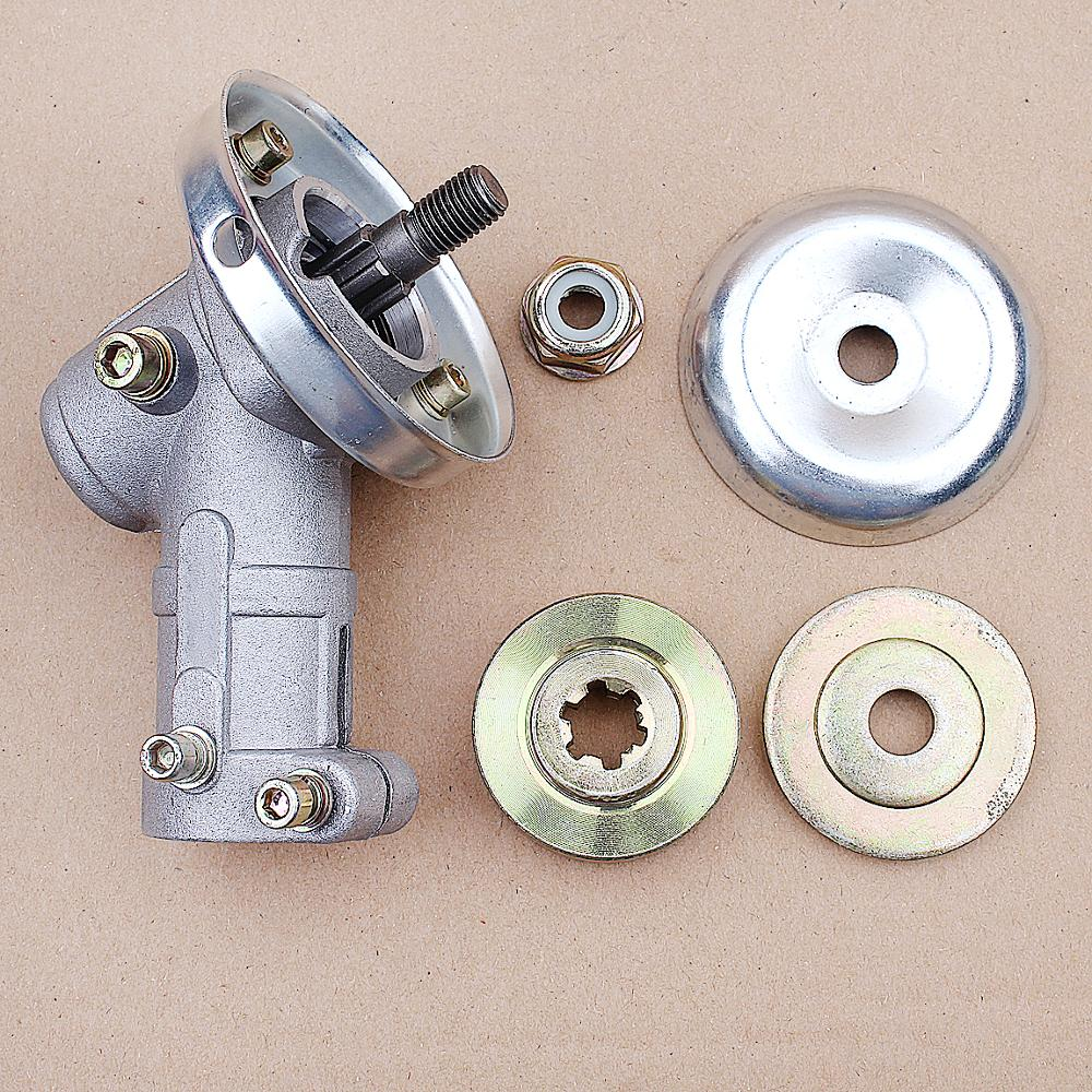 26mm 7T 9T Diameter Trimmer Gearbox Brush Cutter Trimmer Replace Gear Head Garden Power Tools Set Tool Accessories Replacement