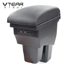 Box Arm-Rest Usb-Storage-Accessories Honda Center-Console Inteiror-Parts Car-Styling