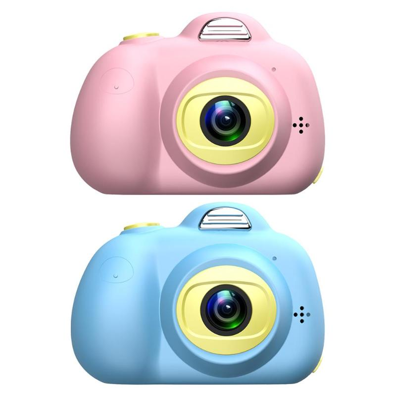 D6 2.0 Inch Kids Mini Digital SLR Camera 32GB Photo Video Camera For Children Smiley Blinking Timed Continuous Shooting