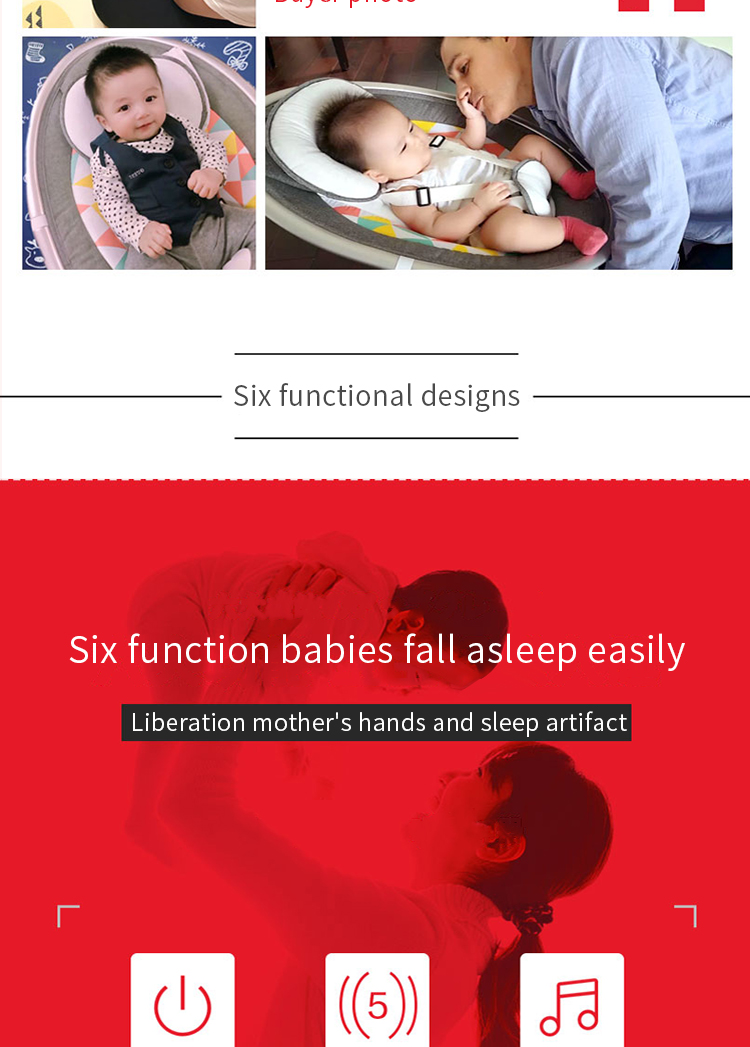 Ha1fb78882fa54fdba069fabe942e9770R Baby rocking chair newborn shaker baby electric cradleartifact with sleeping comfort