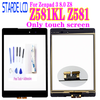 New Digitizer for Asus Zenpad 3 8.0 Z8 Z581 Z581KL Touch Screen Digitizer Panel Outer Glass Not LCD with Free Tools and Glue Tablet LCDs & Panels     -