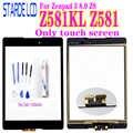 Nuevo digitalizador para Asus Zenpad 3 8,0 Z8 Z581 Z581KL Panel digitalizador de pantalla táctil vidrio exterior no LCD con libre herramientas y pegamento