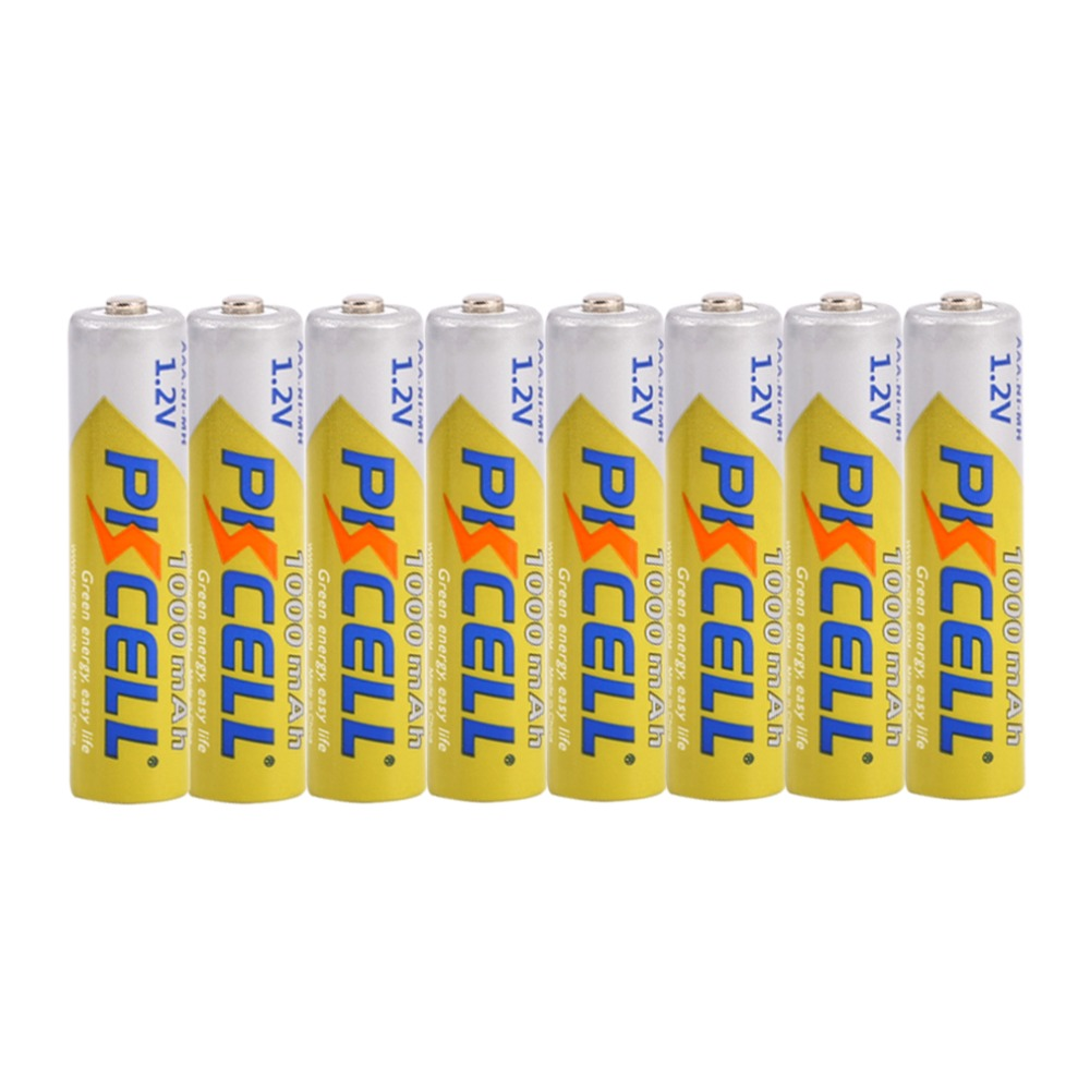 PKCELL 10pcs Original Ni-MH Battery <font><b>1000mAh</b></font> 1.2V <font><b>AAA</b></font> <font><b>Rechargeable</b></font> Battery Portable For Camera Flashlight MP3 MP4 image