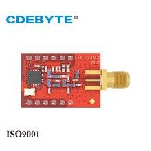 Ebyte E10-433MD-SMA si4463 433 mhz 20dbm 100 mw sma dip iot 433 mhz módulo transceptor sem fio