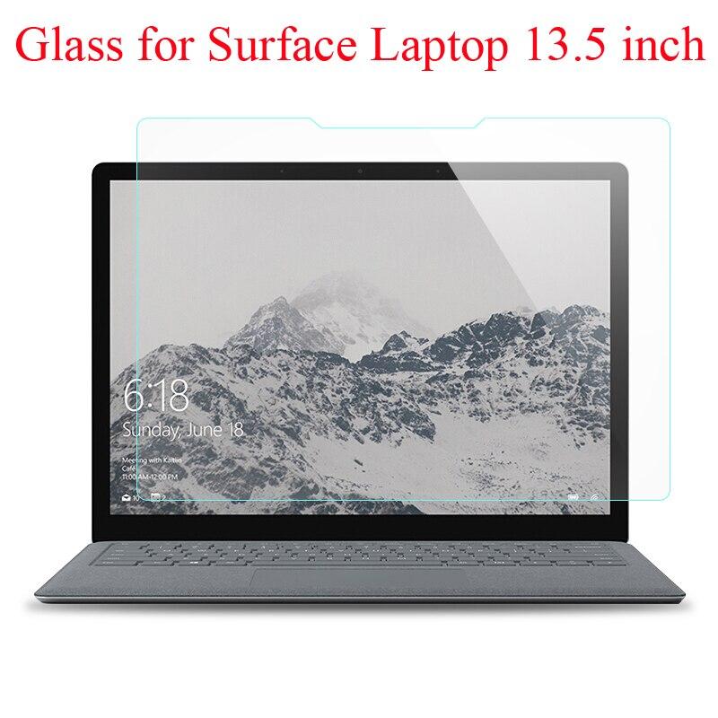 Protecteur décran en verre trempé pour Microsoft Surface, film de protection pour ordinateur portable 1 2 3 13.5 pouces