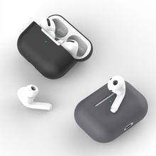 Силиконовый чехол для наушников apple airpods pro 3 беспроводных