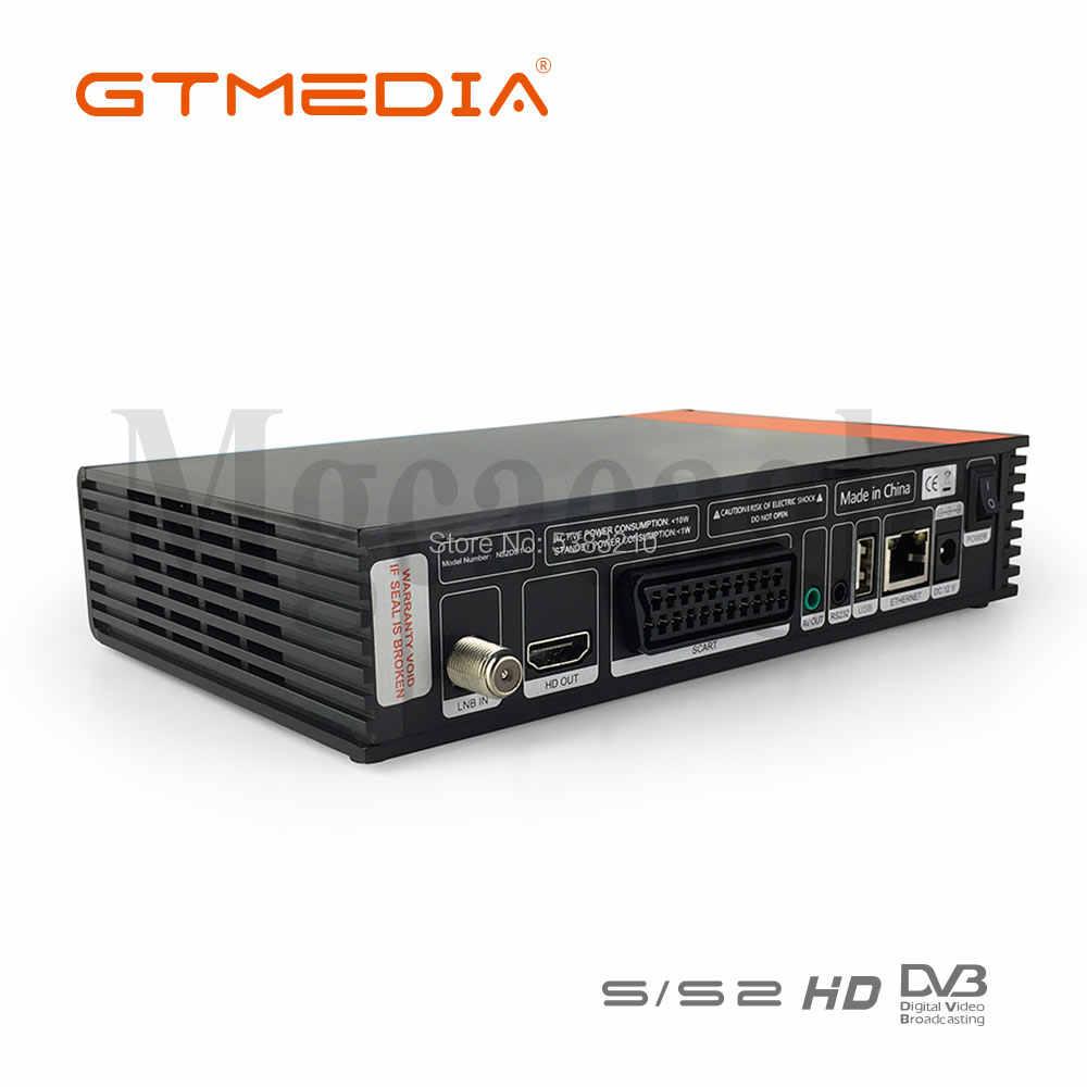 1080P HD DVB-S2 GTmedia V8 Nova Cccam Cline récepteur de télévision par Satellite intégré WIFI puissance par Freesat V8 Super 3 ans Europe Cline