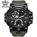 Спортивные часы SMAEL для мужчин  водонепроницаемые светодиодные цифровые часы  мужские наручные часы 1545C  большие мужские часы  армейские час...