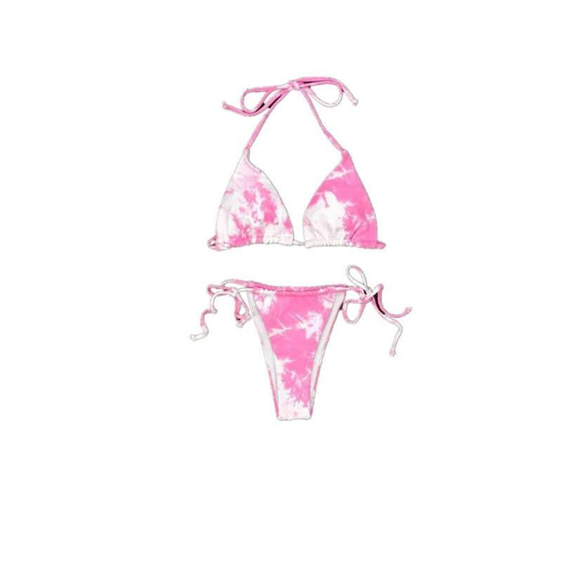 Họa Tiết Bikini 2020 Mới Đồ Bơi Nữ Đồ Bơi Đi Biển Áo Tắm Maillot De Bain Femme Biquini Gợi Cảm Brasil Bikini Bộ