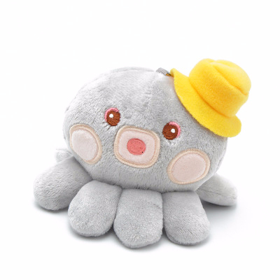 Kawaii 10cm Creative Octopus Plush Toys Octopus Whale Dolls & Stuffed Toys Small Pendant Sea Animal Doll For Kids Birthday Gifts