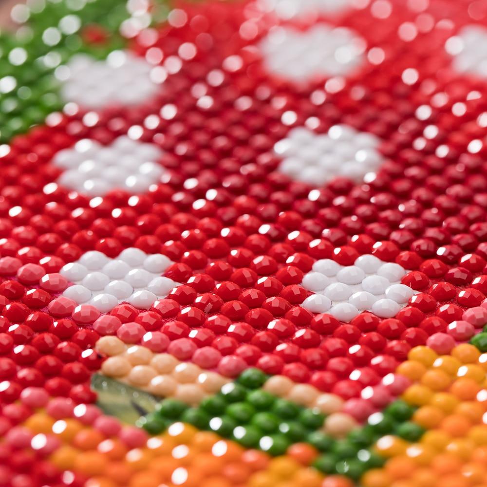 Рамка 5d Сделай Сам Алмазная мозаика мультяшный автомобиль Рождество