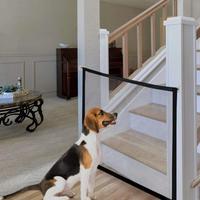 Falten Haustier Isolation Net Magic Gate Hund Pfote Druck Tür Zaun Haushalt Isolation Net Tragbare Assembly Typ Sicherheit Zaun