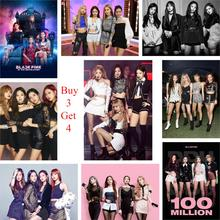 Kpop Posters Blackpink Group Live Show Home Decoration Vivid Color Glossy Paper Prints Art Brand