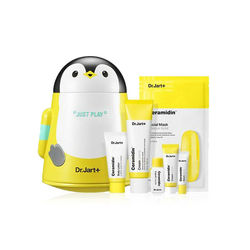 DR. JART + Ceramidin крем игровой набор/Ceramidin жидкий игровой набор отбеливающая маска для лица увлажняющий крем Сыворотка для лица корейская космети...