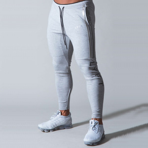 Casual Men's Sport Pants Joggers Cotton Fitness Workout Skinny Trousers Jogging Sweatpants Spots Fashion Style Tactical Track