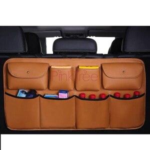 Задняя сумка для хранения на спинку сиденья Toyota Land Cruiser 100 LC100 1998-2007, органайзер для багажника