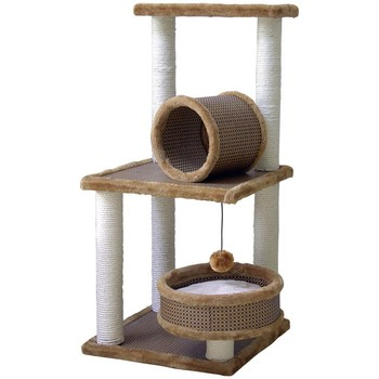 Cat Climbing Frame Wooden Shelves Of The Four Seasons General Cat Litter Tree House Cat Cat Scratching Post Mat Platform Villa