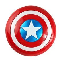 Novo capitão américa 32cm américa escudo cosplay propriedade brinquedo plástico escudo meninos presente