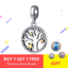 Hot Tree of Life Charms 100% 925 sterling silver Beads Fit Original Pandora Bracelet Women Fashion DIY Jewelry Accessories