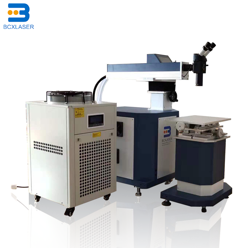 Stainless Steel/ Gold /silver/ Aluminum Letter Laser Welding Machine For Metal Materials