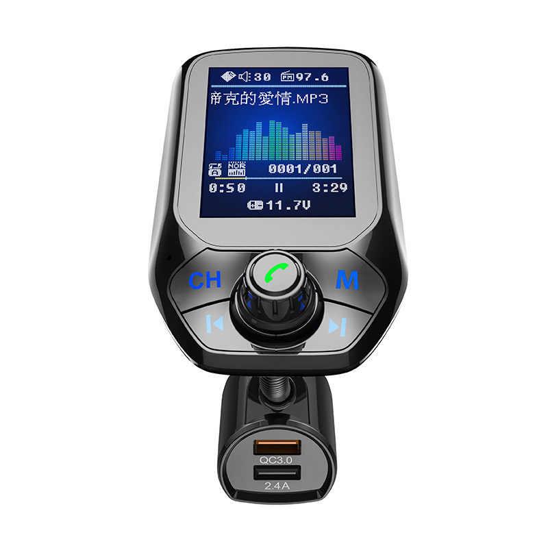 Voiture Bluetooth FM transmetteur lecteur MP3 mains libres adaptateur Radio USB chargeur GK99
