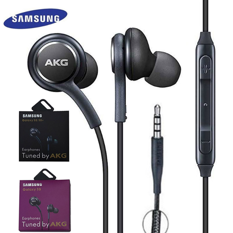 Samsung Wired Headset Xiaomi Smartphone In-Ear-Mic IG955 Huawei S8 Galaxy S10 S9