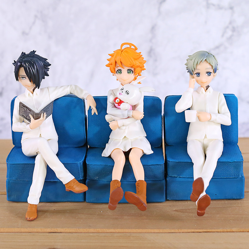 De Beloofde Neverland Emma Norman Ray Sofa Ver. Pm Figuur Collectible Pvc Beeldje Model Speelgoed