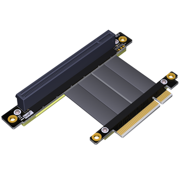 High Quality PCI-e PCI Express 16X to 8X Extension cable 3.High Speed flexible cable is for 1U,2U and ATX/BTX chassis
