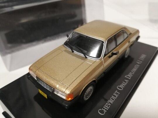 I xo 143 chevrolet opala diplomata 4.1 1988 liga modelo carro diecast metal brinquedos presente de aniversário para crianças menino