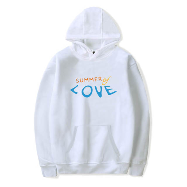 SHAWN MENDES SUMMER OF LOVE THEMED HOODIE