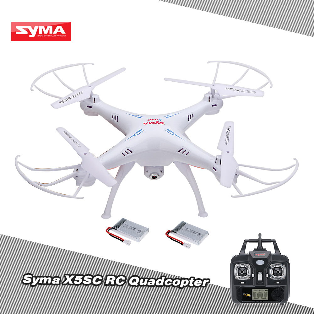 Syma X5C Quadcopter Drone 6-Axis Gyro HD Camera Video Photo Headless 360 Flips