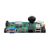 Videograbador de 16 canales de red NVR H.265, 16 canales, 5,0 MP o 1080P NVR, salida HDMI, placa NVR, compatible con Onvif, monitoreo móvil