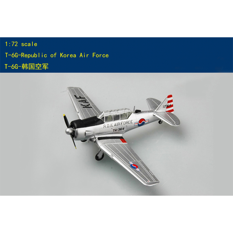 Trumpeter  1/72  South Korean Air Force T-6g Trainer  36316 Finished Product Model