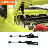 SHINEKA For Suzuki Jimny 2019 2020+ Car Front Hood Engine Cover Supporting Hydraulic rod Lift Strut Spring Shock Bars Bracket