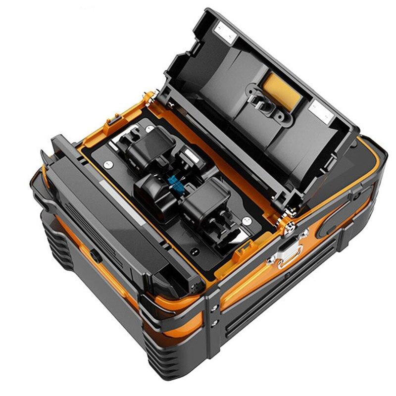 AI 9 FTTH empalme de fibra óptica Multi idioma Signalfire automático inteligente máquina de fusión de fibra óptica empalme envío gratis - 5