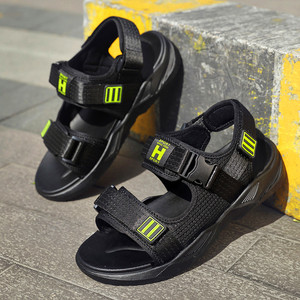 Image 2 - Summer New High Quality Men Flats Casual Beach Athletic Shoes Outdoor Leisure Shoes Wild Male Sport Sandalia Zapatos De Hombre