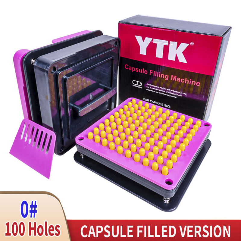 0 # 100 Hole Capsule Filling Machine ABS Capsule FIlling Board Capsule FIlling Equipment Manual FIlling Capsule Packaging Machin