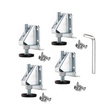 4PCS Carbon Steel Adjustable Foot Legs Levelers Heavy Duty Leveling Feet Lges Bunnings For Furniture Cabinets