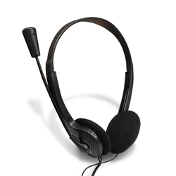 Черная Проводная игровая гарнитура 3,5 мм с HD микрофоном, стерео, объемный звук, низкие басы, музыка/Игровые наушники для ПК, ноутбука, служба ...