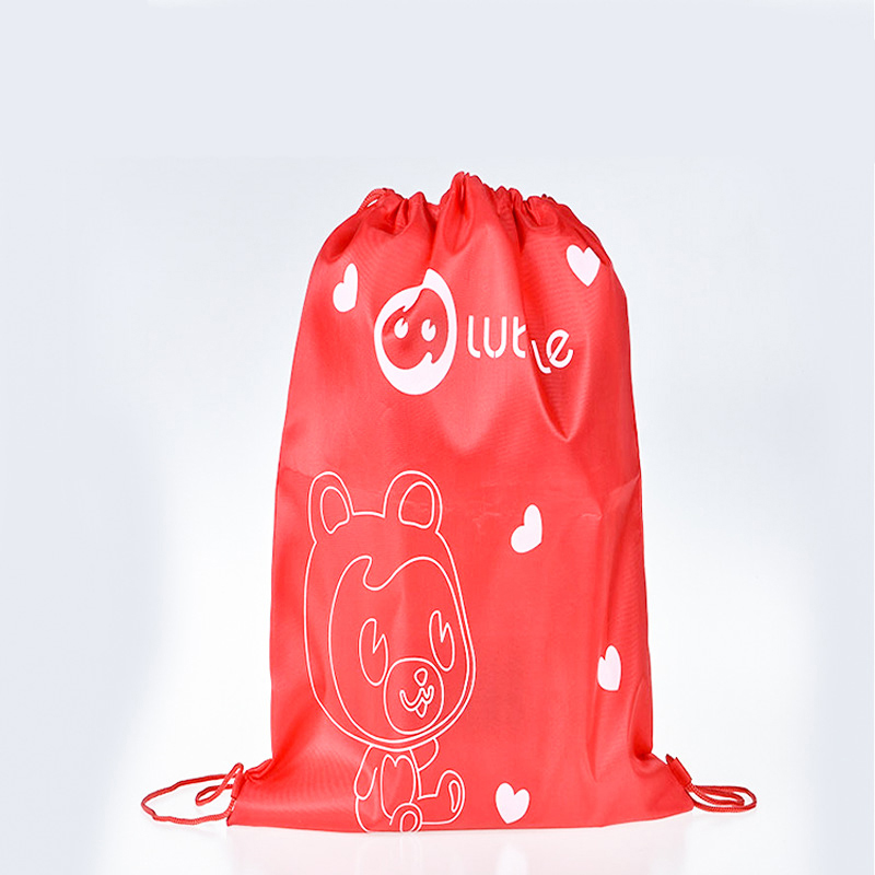 Polyester Nylon Storage Bag Waterproof Oxford Drawstring Bag Clothes Shoes Dust Beam Sports Bag Travel Storage Bag