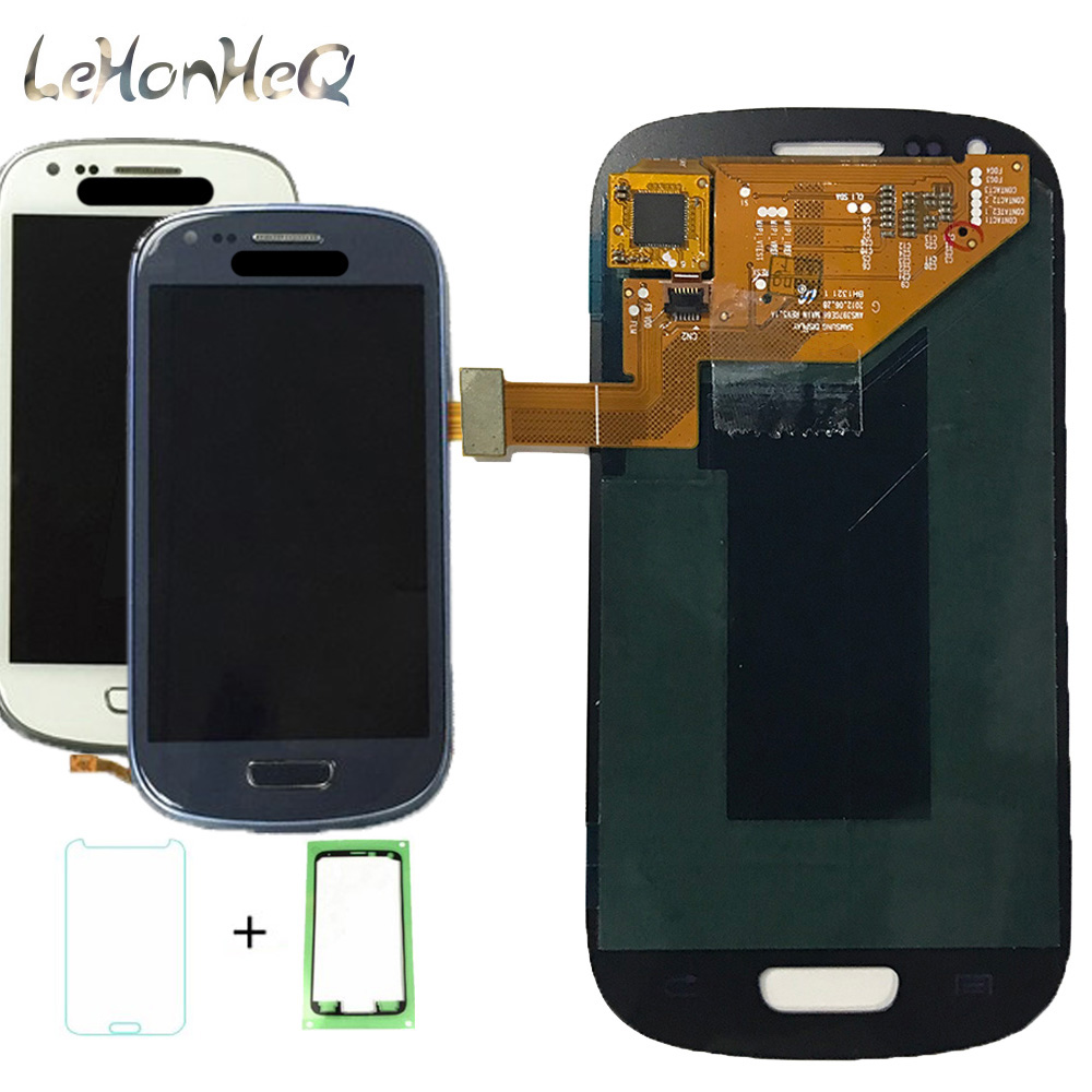 For Samsung Galaxy S3 mini i8190 i8195 i8190N LCD Display Touch Screen Digitizer Assembly For Samsung S3 mini 4.0 AMOLED LCD image