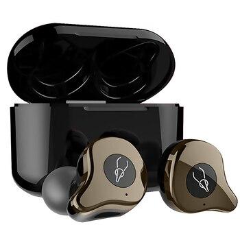 Auriculares inalámbricos Sabbat E12 Ultra QCC3020 TWS con Bluetooth 5,0, auriculares estéreo inalámbricos con reducción de ruido, auriculares con carga inalámbrica
