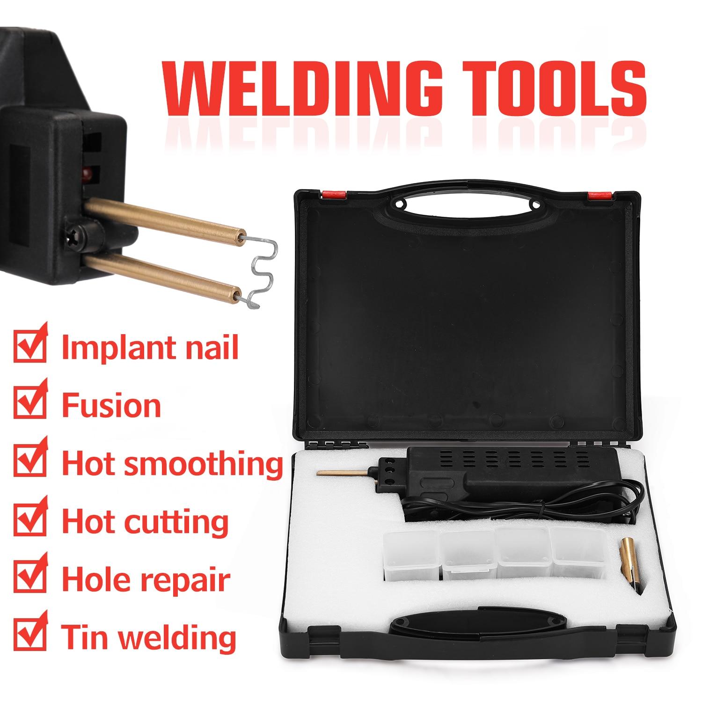 Tools : Professional Plastic Welding Machines Hot Staplers 50W Car Bumper Repairing Machine Welding Repairing Tool